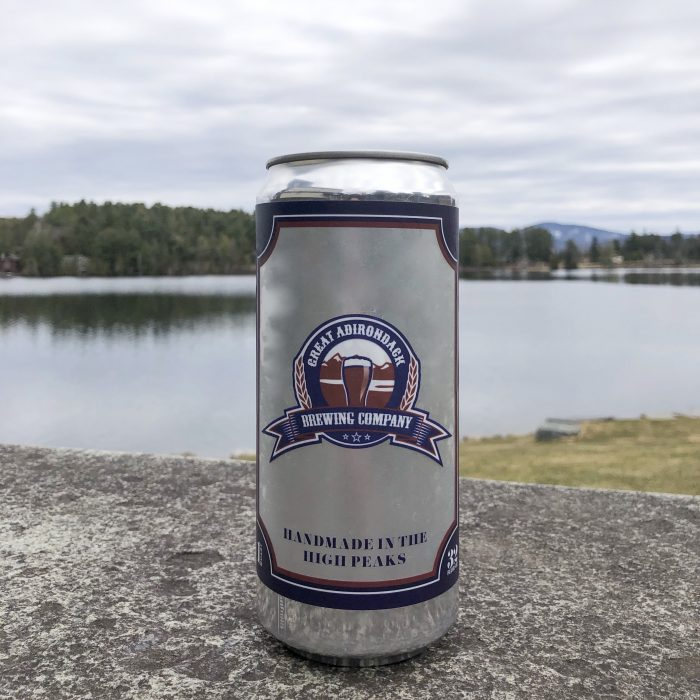 Great Adirondack Brewing Company Craft Beer Crowler