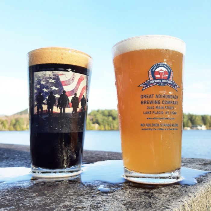 Great Adirondack Brewing Company Pint Glass
