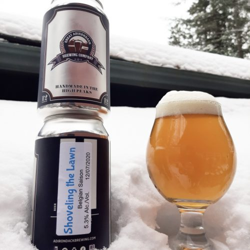 Great Adirondack Brewing Company Shoveling the Lawn Saison