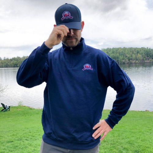 Great Adirondack Brewing Company Sweatshirt and Trucker Hat