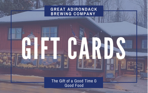 Great Adirondack Brewing Company Gift Card