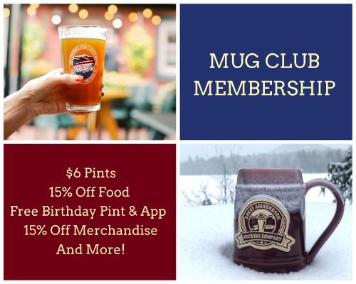 Great Adirondack Brewing Company Mug Club